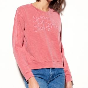 NWOT Sundry 'Summer is a State of Mind' Pullover